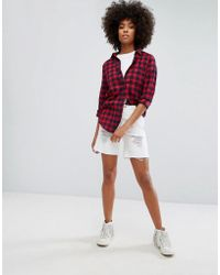 ONLY | Low Boyfriend Short With Rips | Lyst