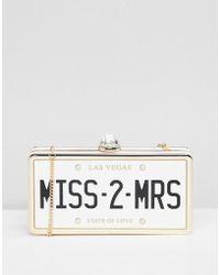 ALDO - Bridal Miss 2 Mrs Clutch Occasion Bag - Lyst