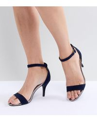 4c2678eb9fe6 Oasis - Barely There Heeled Sandals - Lyst
