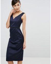 Coast - Leticia Heart Neckline Dress - Lyst