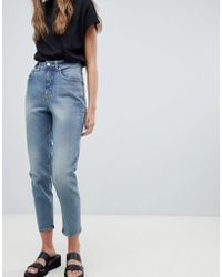 Cheap Monday - Donna High Rise Mom Jeans - Lyst