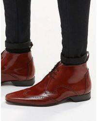 Jeffery West | Brogue Short Boots | Lyst