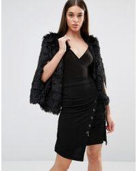 TFNC London - Faux Fur Cape - Lyst