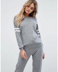 River Island | Bardot Sweatshirt | Lyst
