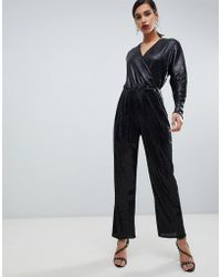 Y.A.S - All Over Sequin Wideleg Jumpsuit - Lyst