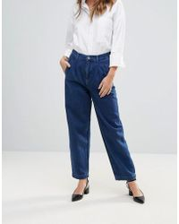 Bethnals - Aidan Pleat Front Mom Jeans - Lyst