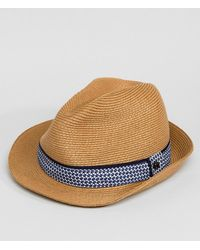 Ted Baker - Frise Summer Trilby Hat - Lyst