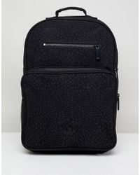 Adidas Originals | Textured Backpack In Black Ce5628 | Lyst