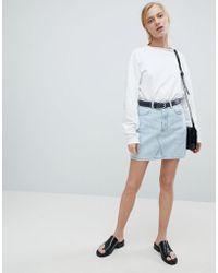 Dr. Denim - Denim Mini Skirt - Lyst