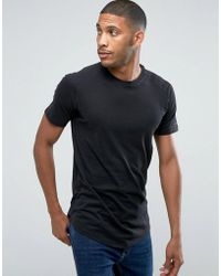 Jack & Jones | Core Longline T-shirt With Raglan Sleeve | Lyst