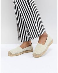 SELECTED - Suede Espadrille - Lyst