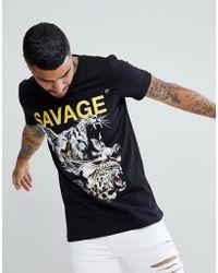 Criminal Damage - Muscle Savage T-shirt - Lyst