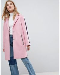 ASOS - Sports Tipping Coat - Lyst