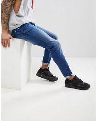 Antony Morato - Skinny Jeans In Blue Stone Wash - Lyst