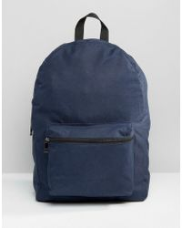 New Look - Backpack In Navy - Lyst