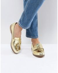 ASOS - Mogul Leather Loafers - Lyst