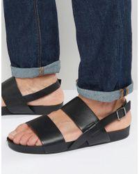 Vagabond - Funk Double Strap Sandals - Lyst