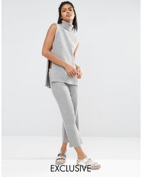 Micha Lounge - Knitted Culottes - Lyst