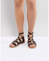 South Beach - Gladiator Sandals - Lyst