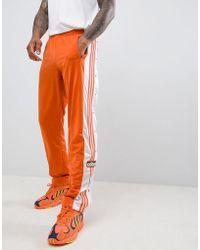 adidas Originals - Adibreak Popper Joggers In Orange Dh5750 - Lyst