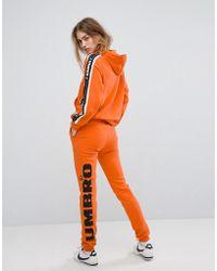 Umbro - Tracksuit Bottoms With Leg Logo - Lyst
