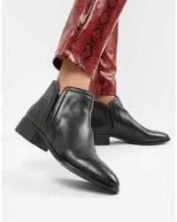 ALDO - Gweria Leather Flat Boots - Lyst