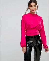 Ivyrevel - Oversized Long Sleeved Top With Waist Band - Lyst