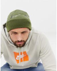 Nike - Gorro verde con estampado de camuflaje y logo 876501-396 de - Lyst 94f97c25ef1