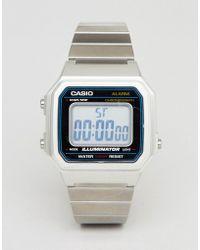 G-Shock - B650wc Digital Bracelet Watch In Silver - Lyst