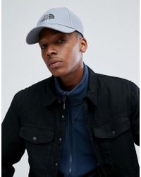 The North Face - 66 Classic Logo Cap In Mid Grey - Lyst