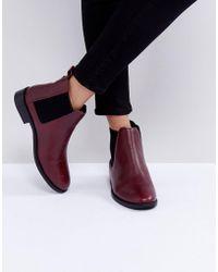 Faith - Binkie Oxblood Leather Chelsea Boots - Lyst