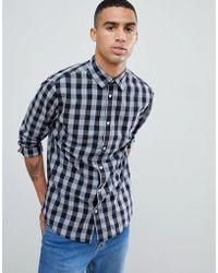 Jack & Jones - Essentials Slim Fit Gingham Shirt - Lyst