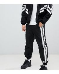Sixth June - Shell Joggers In Black - Lyst