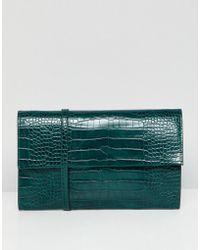 French Connection - Mock Croc Shoulder Bag - Lyst