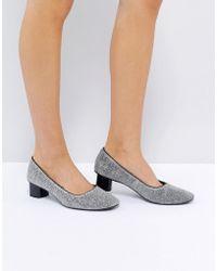 Mango | Mid Heeled Ballet Shoe | Lyst