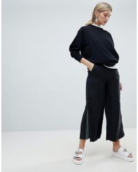 Native Youth - Wide Leg Trouser With Contrast Flared Panel - Lyst