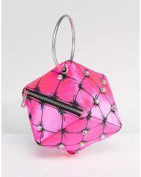 ASOS - Asos X Mary Benson Cube Clutch Bag - Lyst