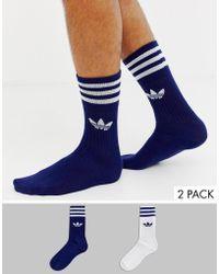 adidas Originals - 2 Pack Socks - Lyst