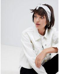 ASOS - Design Paisley Bandana Print Neckerchief/headscarf - Lyst