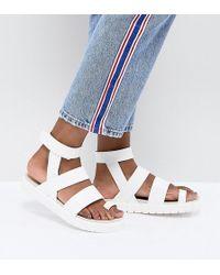 Monki - Strap Detail Sandal - Lyst