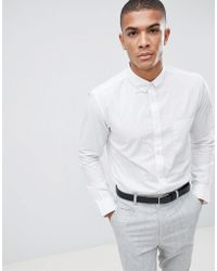 French Connection - Dot Long Sleeve Shirt - Lyst
