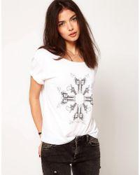 A Question Of - Guns Organic Cotton T Shirt - Lyst