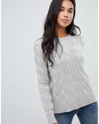 Polo Ralph Lauren - Exaggerated Cable Knit Jumper - Lyst