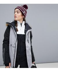 Volcom - Fawn Insulated Ski Jacket In Grey - Lyst
