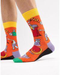 Happy Socks - X The Beatles Yellow Submarine Socks - Lyst