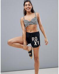 Roxy - Solid Board Shorts In Black - Lyst