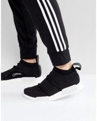 0d3f3fb96114fe adidas Originals - Nmd Cs1 Goretex Primeknit Sneakers In Black By9405 - Lyst