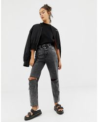 Cheap Monday - Donna Slash Mom Jean With Recycled & Organic Cotton - Lyst