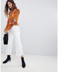 Miss Selfridge - Wide Leg Jeans - Lyst