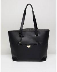 New Look - Tote Bag In Black - Lyst